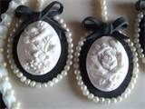 Cameo candy cake decorations