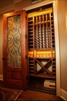 Closet Conversion To Wine Closet