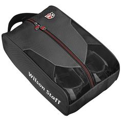 Bags & Luggage : Golf Shoe Bags : Wilson Staff Shoe Bag with Embroidery : Corporate Golf Gifts, Promotional Golf Items, Logo Golf Balls Golf Shoe Bag, Golf Shoes, Golf Bags, Shoe Bags For Travel, Bag Packaging, Golf Accessories, Luggage Bags, Gym Bag, Purses