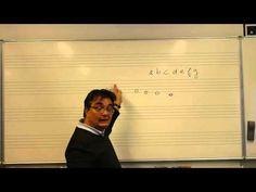 les 1 namen van noten - Leer eenvoudig noten lezen. YouTube