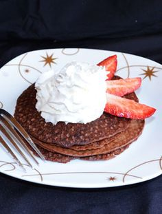 Cokoladove proteinove fitness palacinky_bananove fitness palacinky. Recept na www.fitnessdezerty.sk