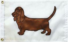 """Australian Shepherd Dog Flag on White 12/""""x18/"""" Sewn in the USA"""