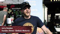 Outback Motortek Hooks Simon and Lisa Up With Some Killer Straps