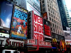 Broadway!!!  I want to see an honest to goodness Broadway show.