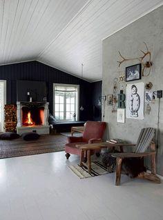 Wil jij je interieur een lekker warm tintje geven deze winter? Doe dan hier je inspiratie op in een rustiek huis in Noorwegen.