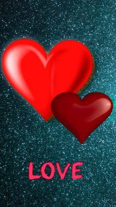 Heart Wallpaper, Iphone Background Wallpaper, Love Wallpaper, Bullet Journal Books, Book Journal, Valentine Wallpaper, Pretty Backgrounds, Twin Flames, Glitter Hearts