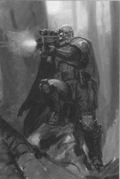Warhammer 40k,Ultramarine veteran scout