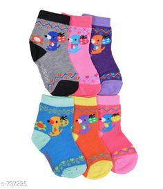 Socks Trendy Animated Kids Socks Fabric: Cotton  Age: 1-3 years Description: It Has 3 Pair Of Kid's Sock Work:  Printed Country of Origin: India Sizes Available: 2-3 Years, 3-4 Years, 4-5 Years, 5-6 Years, 6-7 Years, 7-8 Years, 18-24 Months, 1-2 Years   Catalog Rating: ★4.2 (434)  Catalog Name: Alexandra Funky Animated Kids Socks CatalogID_83512 C63-SC1194 Code: 022-737225-