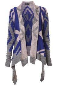 Apricot Diamond Knit Waterfall Cardigan http://www.apricotonline.co.uk/mall/productpage.cfm/womensclothing/_5051839142657/461702/Diamond-Knit-Waterfall-Cardigan