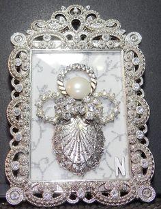 8x10 Vintage Jewelry Angel Made By Beth Turchi 2015 My