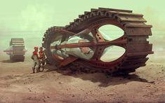 The Amazing Science Fiction Art of Neil MacCormack
