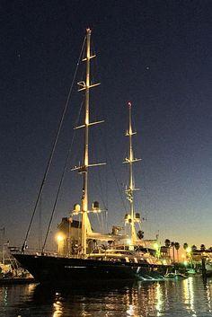 165 Foot Yacht Photo - Santa Barbara News - Edhat