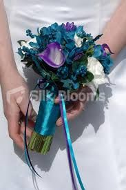 teal bouquet - Google Search