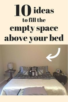 There's so many things you can do with that empty space