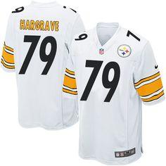 Men's Nike Pittsburgh Steelers #79 Javon Hargrave Game White NFL Jersey
