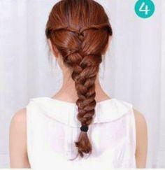 3 Trenzas fáciles para cabello largo ~ Belleza y Peinados