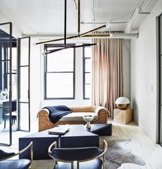 A Modern Apartment Brought Back To Its Original Industrial Structure |  Industrial, Apartments And Modern