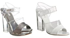 Modern day glass slipper