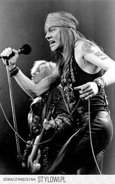 Image uploaded by Find images and videos about rock, Guns N Roses and axl rose on We Heart It - the app to get lost in what you love. Axl Rose, Guns N Roses, Glam Rock, Metallica, Popular People, Welcome To The Jungle, Let Your Hair Down, Rock Legends, The Duff