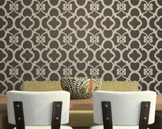 Hey, I found this really awesome Etsy listing at http://www.etsy.com/listing/64334831/moroccan-wall-decor-stencil-chez-ali