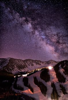 Starlight Mountain Ski Hill, Colorado