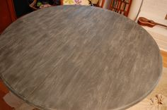Limed table