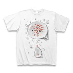 bak IkedaデザインのオリジナルTシャツシリーズです。 金魚シリーズは「A」と「B」がございます。 【素材】綿100% サイズ S M L XL 身丈(cm) 66 70 74 78 身巾(cm) 49 52 55 58 肩巾(cm) 44 47 50 53 袖丈(cm) 19 20 22 24 ご注文を受けてからプリントを掛けますので納期には数日のお時間を頂きますことをご了承くださいませ。 ©bak Ikeda