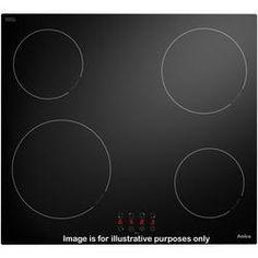 Amica PH6420ZT Frameless Touch Control 60cm Four Zone Ceramic Hob - Black
