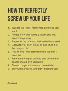 Not easy to accept...but these are so true...