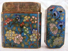 Small Antique 19th Century Chinese Cloisonne by TheAntiquaire, $225.00