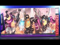 2015 TRANSFORMERS GENERATION PLATINUM EDITION INSECTICONS VIDEO TOY REVIEW