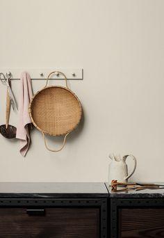 66 Ideas kitchen interior details colour for 2019 Scandinavian Interior Design, Interior Design Kitchen, Jotun Paint, Trending Paint Colors, Color Trends 2018, Wall Paint Colors, Color Paints, Colorful Interiors, Decoration