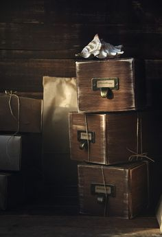 Aromatherapy Wooden Candles Boxes Wonderful JenAnt