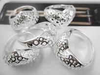 $8.99 +free shipping!! Sterling Silver bubble heart rings at wholesale prices, we have many sizes to chose from, many designs, and right now all silver jewelry ios buy2 get1 free! Do your Valentines shopping early so its done!