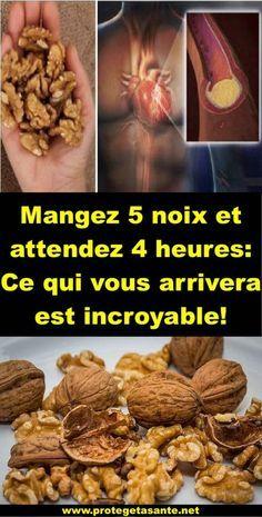 Mangez 5 noix et attendez 4 heures: Ce qui vous arrivera est incroyable!