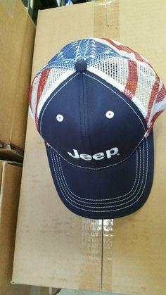 Patriotic jeep hat