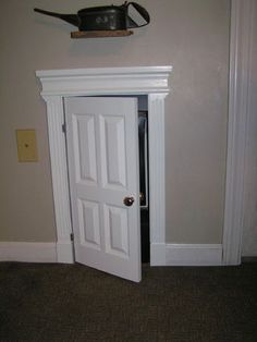 High Class Dog Door & Love the idea of framing out the doggy door!! | can we ... Pezcame.Com