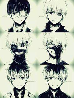 Kaneki Ken | Sasaki Haise || Tokyo Ghoul : Re