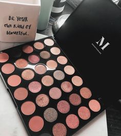 The best morphe eyeshadow palette. Create before eyeshadow looks with this stunning morphe palette. #swatches #eyeshadow #eyeshadowpalette #makeup #beauty #palettes #morphe
