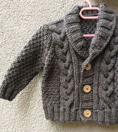 Grey Knitted Baby Cardigan, Baby Boy Cable Sweater Coat, Cute Hand Knit Newborn Boy Coming Home Outfit Clothes, New Born Baby Knitwear, Gift Knit Baby Sweater Hand Knitted Grey Baby Cardigan by Istanbulknit Baby Boy Cardigan, Cardigan Bebe, Knitted Baby Cardigan, Knit Baby Sweaters, Knitted Coat, Boys Sweaters, Baby Vest, Cotton Sweater, Baby Baby