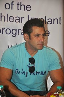 Salman Khan at Charity Event for Kids at Holy Hospital.