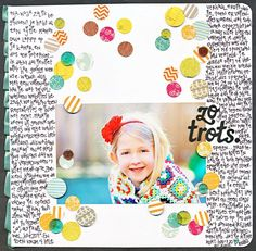 so proud. {American Crafts} by Revlie @Two Peas in a Bucket
