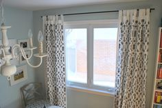 $10 curtain rods...use electrical, conduit, corner brackets & EMT straps, plus spray paint (which would add extra $)