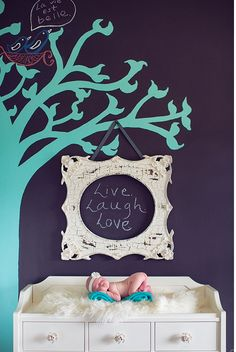 I love this baby room.