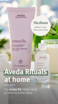 Whenever you crave pure relief from stress, try Aveda Stress Fix, a skincare collection infused with an aroma proven to reduce feelings of stress. Clary Sage Essential Oil, Essential Oils, Ways To Sleep, Natural Stress Relief, Plant Science, Bedtime Routine, Feeling Stressed, Sleep Better, Cleansing Oil