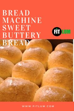 If you are craving a luscious snack, then try out this incredible sweet buttery bread. This bread is one of the best bread machine recipes you will ever taste. Just sprinkle some sugar and cinnamon on top of it and broil for almost one minute or until it Bread Machine Mixes, Best Bread Machine, Bread Machine Recipes Healthy, Bread Recipes, Healthy Recipes For Weight Loss, Healthy Foods To Eat, Buttery Bread Recipe, Fat Loss Drinks, Cleanse Recipes