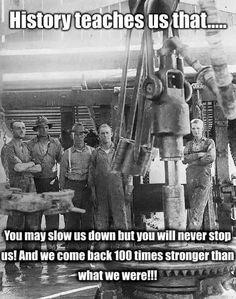 Oilfield strong. #RoughneckLife #Roughneck