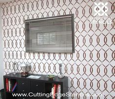 DIY Wall Stenciling Project with Cutting Edge Stencils DIY Wall Accent