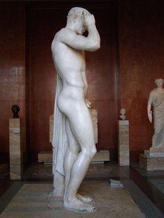 Marcellus as the God Hermes   Cleomenes the Athenian   23 BC   Marble   Musée du Louvre   Paris (France)