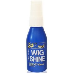 Ebin New York Natural 24 Hour Wig Shine 2 oz $2.69   Visit www.BarberSalon.com One stop shopping for Professional Barber Supplies, Salon Supplies, Hair & Wigs, Professional Product. GUARANTEE LOW PRICES!!! #barbersupply #barbersupplies #salonsupply #salonsupplies #beautysupply #beautysupplies #barber #salon #hair #wig #deals #sales #ebin #24hour #wigshine